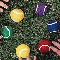 Colors Numbers On Tennis Balls Epic Tennis Acedemy